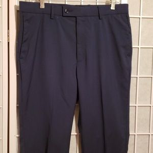 APT. 9 STRETCH WAIST NAVY MEN'S PANTS Sz 32X32